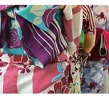 Rainbow Kimono Photographic Print