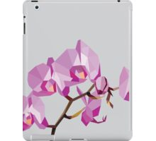 Orchid - low poly iPad Case/Skin