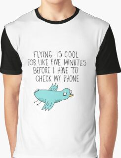 The Magic of Flying Graphic T-Shirt