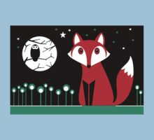 FOX MOON One Piece - Short Sleeve