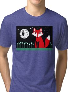 FOX MOON Tri-blend T-Shirt
