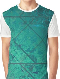 Green Marble Texture Graphic T-Shirt