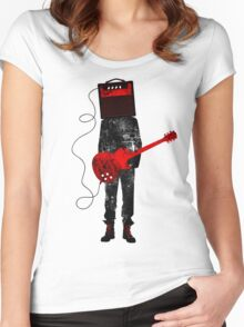 Amplified Women's Fitted Scoop T-Shirt