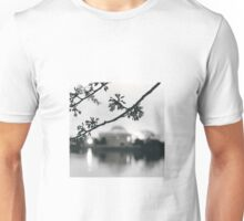 Cherry Blossoms at the DC Tidal Basin Unisex T-Shirt