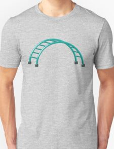 Slides parallel bars Unisex T-Shirt