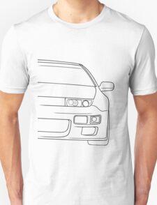 300zx outline - black Unisex T-Shirt