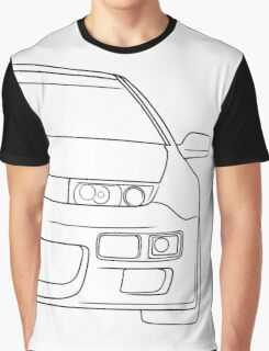 300zx outline - black Graphic T-Shirt