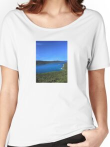 River in Croatia Women's Relaxed Fit T-Shirt