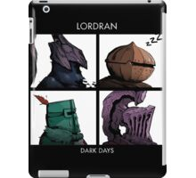 Lordran Dark Days character iPad Case/Skin