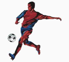 Football player in action One Piece - Short Sleeve