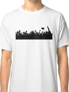 Sport supporters silhouettes Classic T-Shirt