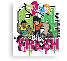 84 Fresh  Canvas Print