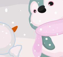 Bully Baby Penguin Sticker
