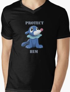 Protect Him Mens V-Neck T-Shirt
