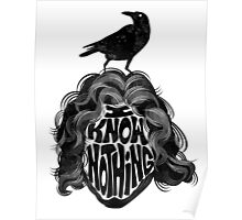 I Know Nothing Poster