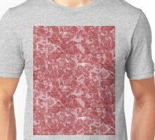 Red Marble texture Unisex T-Shirt
