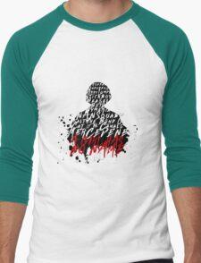 A Girl Has No Name Men's Baseball ¾ T-Shirt