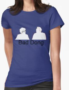 Bad Dong - Big Fat Quiz Womens Fitted T-Shirt