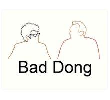 Bad Dong - Big Fat Quiz Art Print