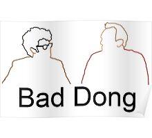 Bad Dong - Big Fat Quiz Poster