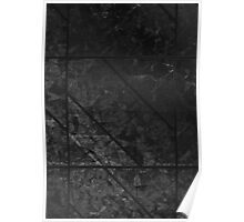Black Marble texture Poster