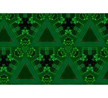 Geometric Green Photographic Print
