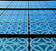 Blue Lines by David Hawkins-Weeks
