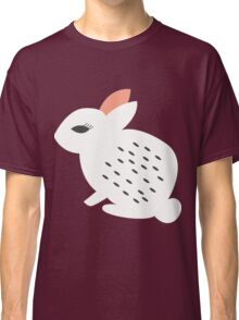 Rabbits and flowers 007 Classic T-Shirt