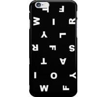 taylor swift jumble iPhone Case/Skin