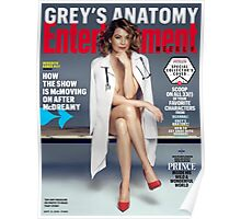 Ellen Pompeo Entertainment Weekly Cover Poster