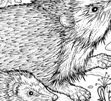 Hedgehog (I love Wildlife) Sticker