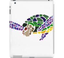 Cool Fun Artsy Sea Turtle Abstract Art iPad Case/Skin