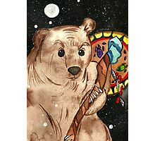 Bear Shaman Photographic Print