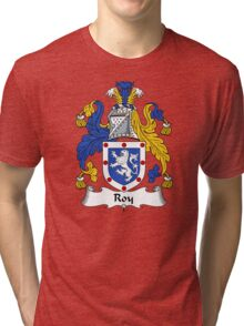 Roy Coat of Arms / Roy Family Crest Tri-blend T-Shirt