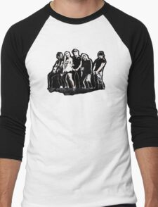 WARNER DRIVE - black version Men's Baseball ¾ T-Shirt