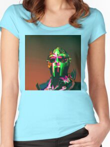 MF DOOM Vector art Women's Fitted Scoop T-Shirt