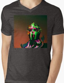MF DOOM Vector art Mens V-Neck T-Shirt