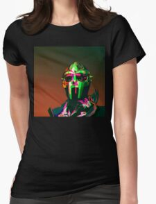 MF DOOM Vector art Womens Fitted T-Shirt