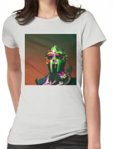 MF DOOM Vector art Womens Fitted T-Shirt
