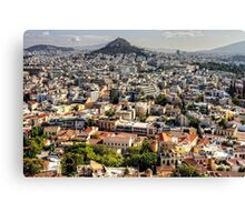 Living in Athens Canvas Print