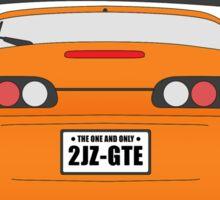 Toyota Supra rip paul walker Design Sticker