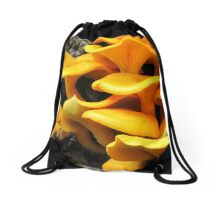Who's Been Eating The Orange Delights?! Drawstring Bag