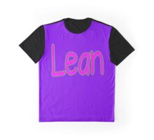 Lean. Graphic T-Shirt