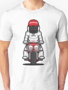 Honda Ruckus with Asimo Unisex T-Shirt