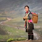 Vietnamese woman in landscape by Patricia Jacobs DPAGB LRPS BPE4