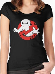 Baybuster Logo Women's Fitted Scoop T-Shirt