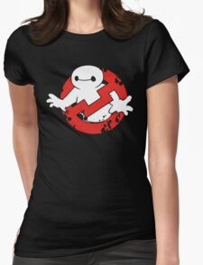 Baybuster Logo Womens Fitted T-Shirt