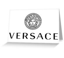 The Versace Collection Greeting Card