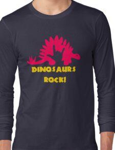 Dinosaurs Rock Long Sleeve T-Shirt