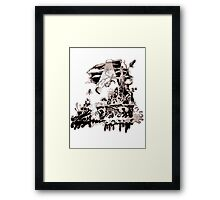 Mean green 2 Framed Print